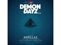 Bar work at Demon Dayz Festival 10thJune