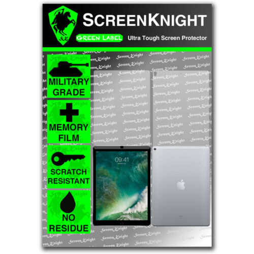 ScreenKnight Apple iPad Pro 12.9 (2nd Gen) FULL BODY SCREEN PROTECTOR