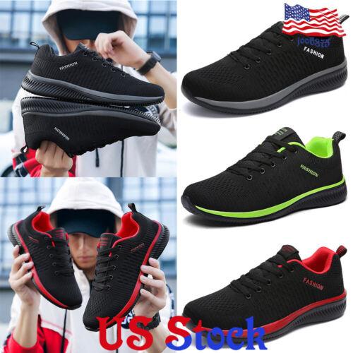 Men's Breathable Running Tennis Mesh Shoes Sport Gym Athleti
