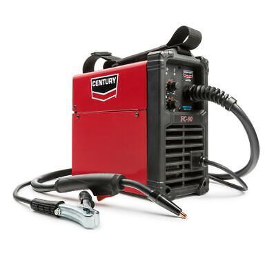 Century Flux Core Wire Feed Welder Gun Mig Welding Machine Equipment 90 Amp 120v