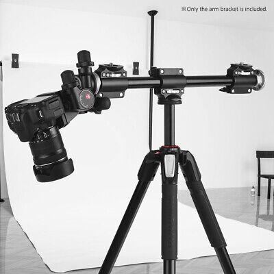 - Aluminium Alloy Adjustable Camera Tripod Boom Horizontal Arm Extension Bracket
