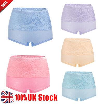 New Women's Body Shaping High Waist Boxer Shorts Pants Ladies Underwear -