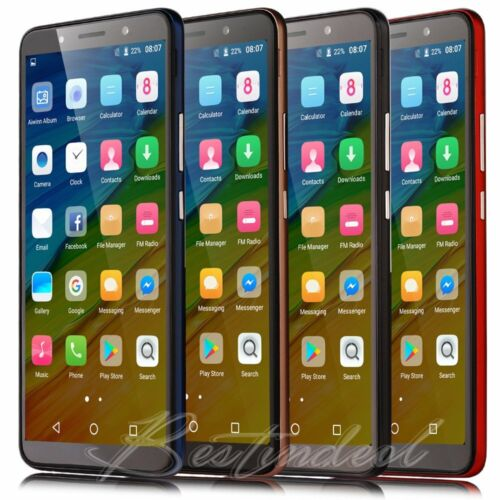 """Android Phone - Cheap Unlocked 6.0"""" Android 8.1 Smart Mobile Quad Core Dual SIM WiFi Phone P30"""