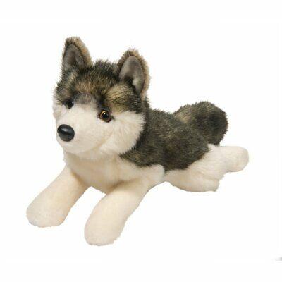 phoenix wolf plush lying stuffed