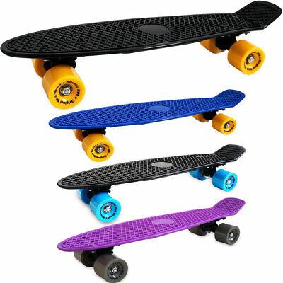 Retro Skateboard Skate Board Plastic Oldschool Skateboard Cruiser 22 Inch 57cm