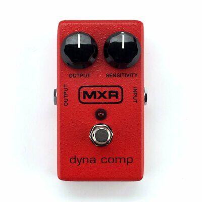 MXR M102 Dyna Comp Compressor Compression Electric Guitar Effects Pedal Stompbox
