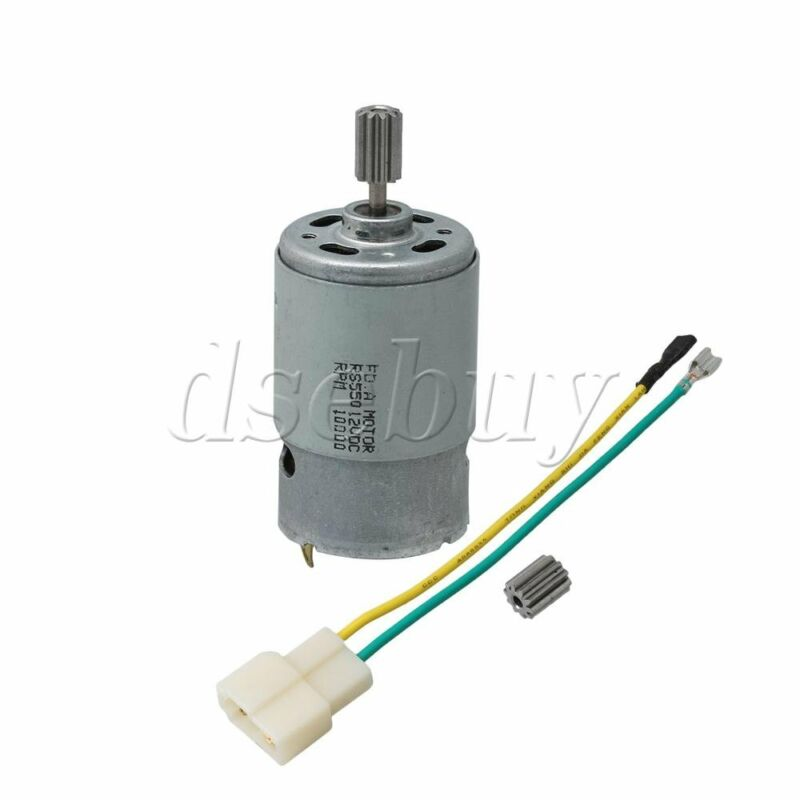 550 10000 RPM Electric Motor 12V 10T for Children Cars Replacement Parts