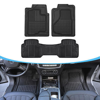 Auto Floor Mats for SUV Car   All Weather HD 3D Rubber Odorless Front  Rear Set