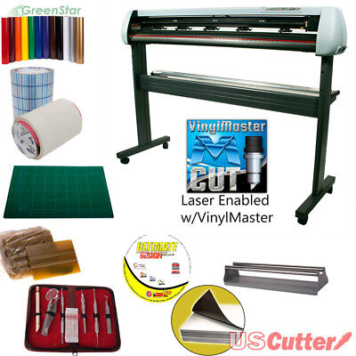 53 Uscutter New Sc2 Vinyl Cutter Bundle Sign Cutting Plotter Wvinylmaster Cut