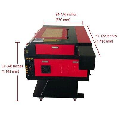 700500mm 80w Usb Co2 Laser Engraver Laser Cutter Lase Engraving Machine Cnc Fda