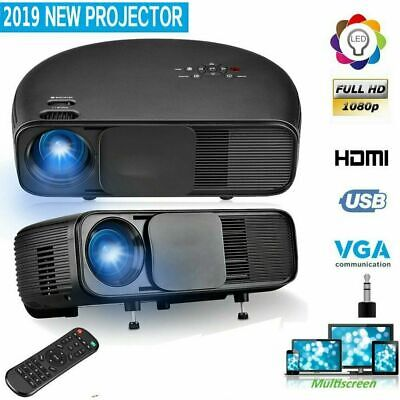 CL760 LED Smart Home Theater Projector 4K 1080P FHD 3D VGA HDMI Video Movie New