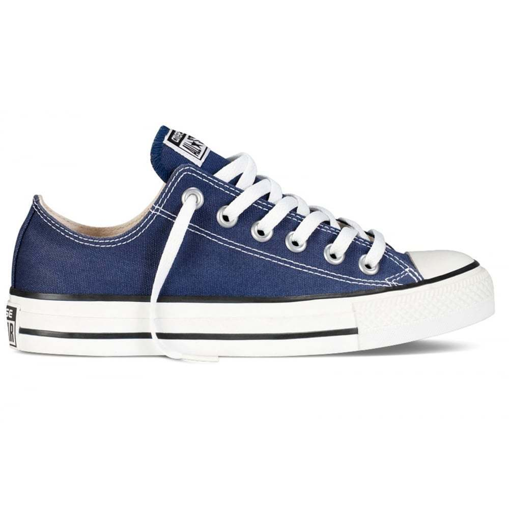 d63f50d3616c Converse Chuck Taylor Ox Low Top Navy Blue White Mens Womens Shoes Sizes
