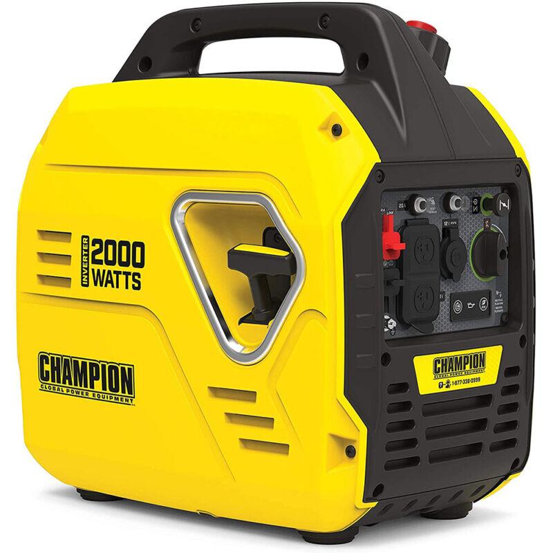Champion Power Equipment 100692 2000-Watt Portable Inverter Generator,Ultralight