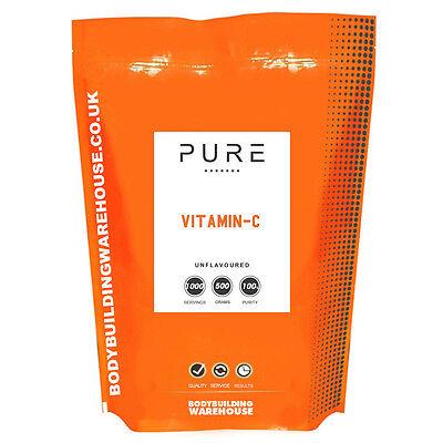 Vitamina C Polvo - 100% Puro Uso En Farmacia Ácido Ascórbico (1kg)