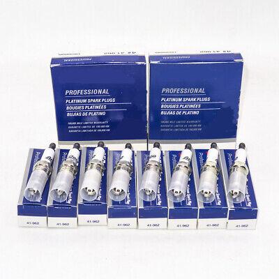 8PCS 41-962 19299585 Platinum Spark Plugs For GMC Sierra Chevy Silverado