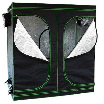 Growbox 240x120x200CM Growschrank Grow Tent Growroom Indoor Darkroom 🌱