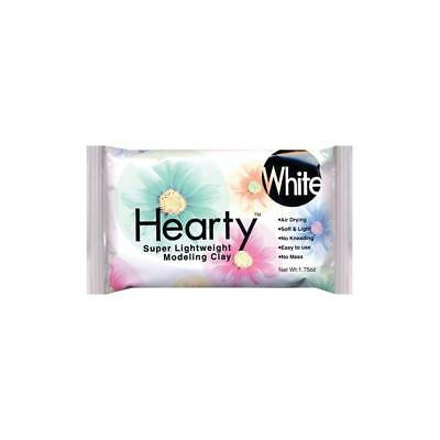HEARTY Air Dry Super Lightweight Modeling Clay - White - Dry Clay