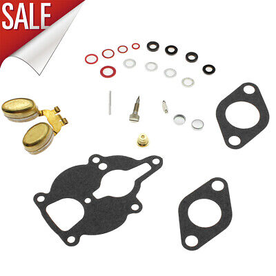 Carburetor Kit With Float For Zenith Wisconsin Engine Vh4d Vhd Tjd Replaces Lq39