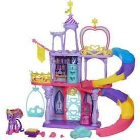 My Little Pony Rainbow Castle play set