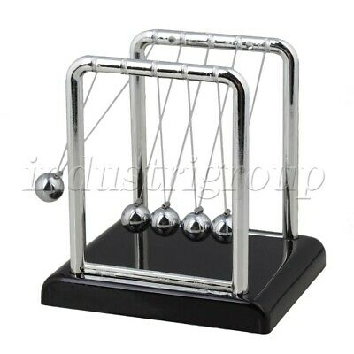 Newtons Cradle Balance Balls Physics Science Pendulum Desk Toy