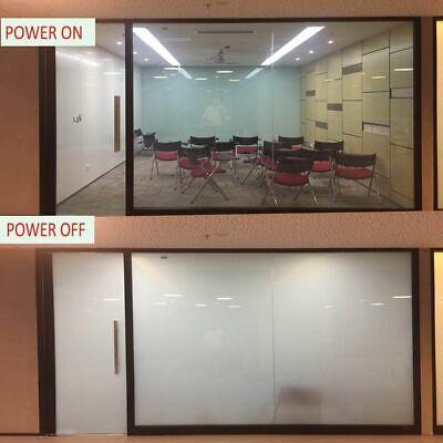 Electric Self Adhesive PDLC Film Smart Glass Window Door Tint 12