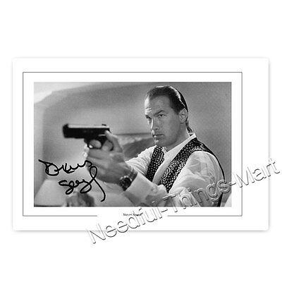 Steven Seagal - Producer | Actor | Writer - Autogrammfotokarte laminiert [AK2] 