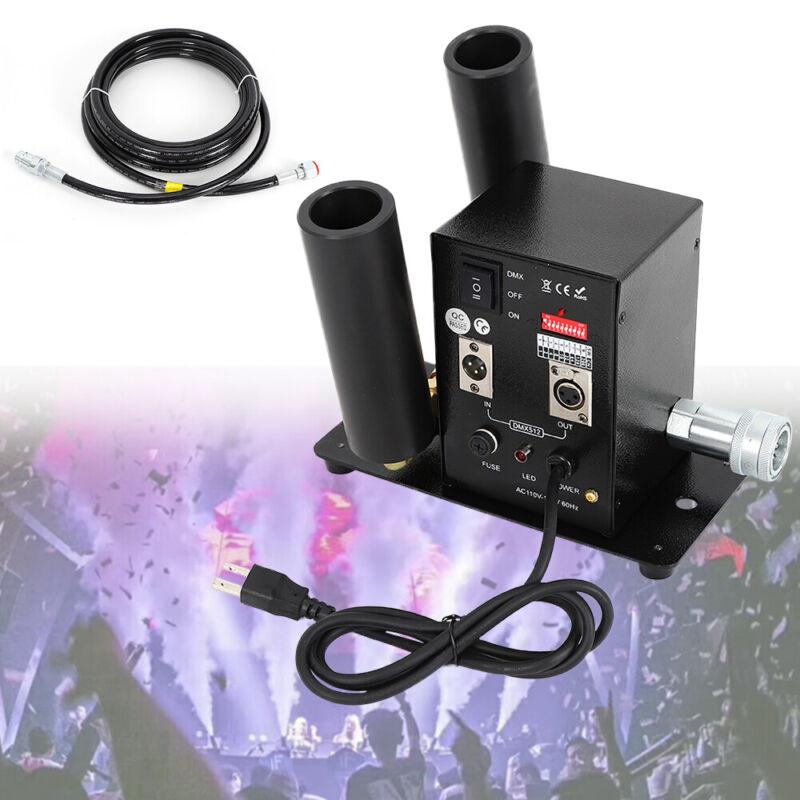 CO2 Jet Fog Smoke Machine For Wedding DJ Club Show Stage Effect DMX Control