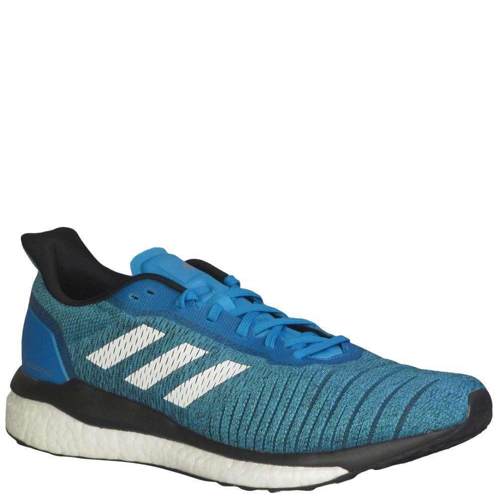 Adidas Solar Drive Men's [ Shock Cyan/White/Core Black ] Running - MB96233