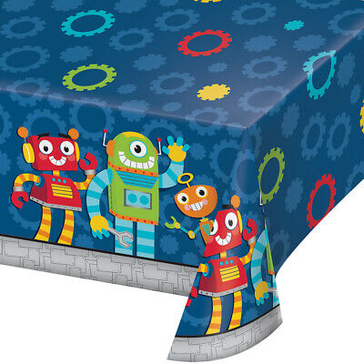 Party Robots Table Cover 54
