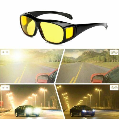 HD Vision Nachtsichtbrille Fahren Kontrastbrille Nachtfahrbrille Sonnenbrillen