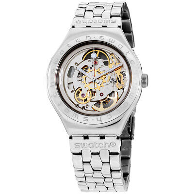 Swatch Irony Automatic Movement Silver Dial Men's Watch (Swatch Man)