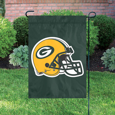 Green Bay Packers Helmet,  Extra Large Garden Flag 18 X 12.5](Green Bay Packers Flag)