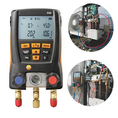Testo 549 Refrigeration Digital Manifold Hvac Gauge System Free Shipping New