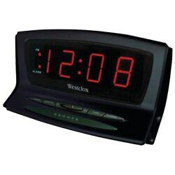 WESTCLOX Westclox Instant-set Led Alarm Clock