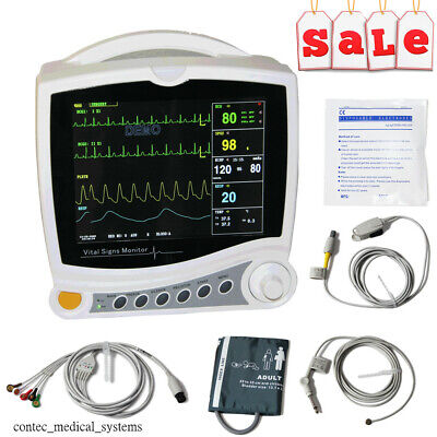 Hospital Icu Multi-parameter Vital Signs Patient Monitor Cardiac Machinecms6800