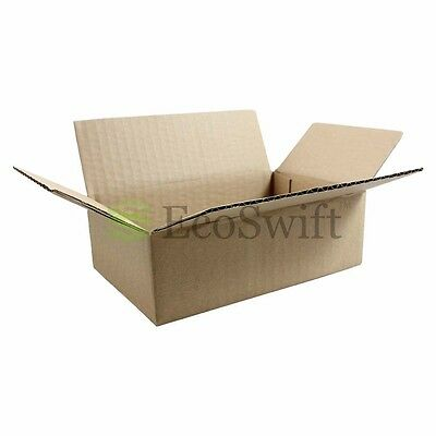200 6x4x2 Cardboard Packing Mailing Moving Shipping Boxes Corrugated Box Cartons