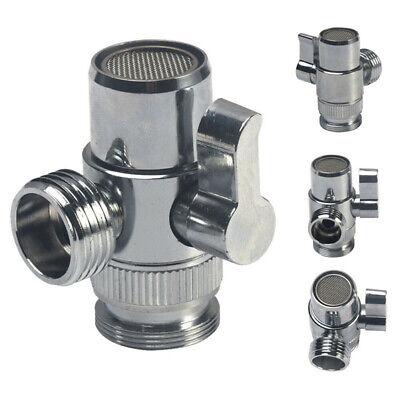 Grifo Válvula de Desvío Lavabo Agua Divisor Adaptador Para for Ducha Manguera