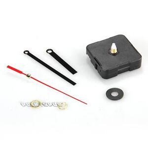 Black-Quartz-Clock-Horologe-Movement-Mechanism-Repair-DIY-Tool-Kit-Black-Hands