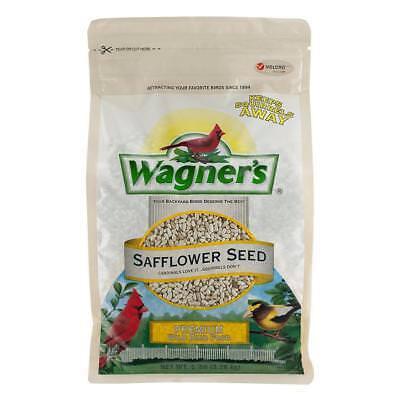 5 lb Safflower Seed Wild Bird Food Bitter Tasting Seeds Cardinal Grosbeaks Foods
