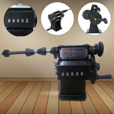 Counting Winder Machine Coil Winding Machine Dual Purpose Electricmanual Hand