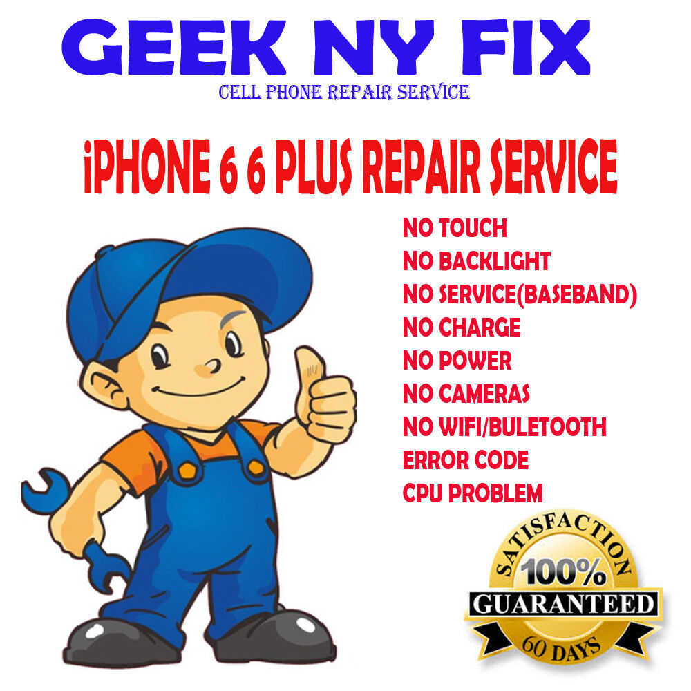 Купить Repair Service For Iphone 6 Plus Touch IC Disease, no touch and grey bars,READ