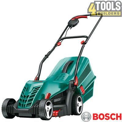 Bosch 06008A6172 Green Rotak 34R Corded Electric Rotary Lawn Mower 1300W 240v