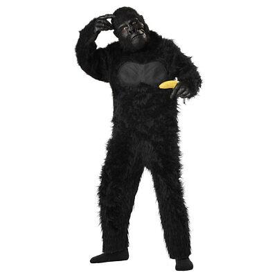 Gorilla Costume Adults (Kids Black Gorilla Halloween)