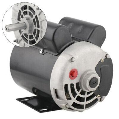 2 Hp Spl Cont. Air Compressor Electric Motor 3450 Rpm 56 Frame 120240v Amb 40c