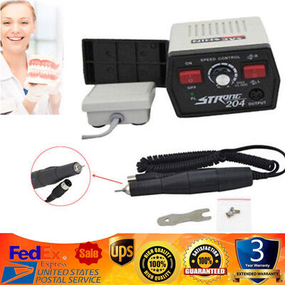 Dental Polishing Micromotor Micro Motor Strong 204102l Handpiece For Marathon
