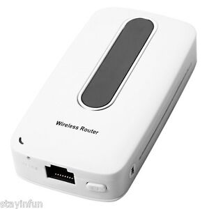 Mini Wireless 3G WiFi Router Portable Power Bank  SIM Card Slot Hotspot 150Mbps
