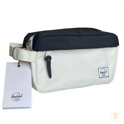 Herschel Supply Co. Chapter Travel Bag Toiletries Accessories - Black/White, 5L