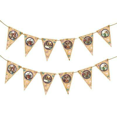 Bunting Hanging Vintage Tea Party Supplies For Mad Hatter (Vintage Tea Party Supplies)