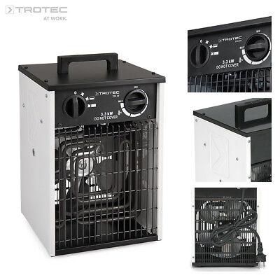 TROTEC TDS 20 Calefactor eléctrico portátil, Aerotermo, Generador con 3,3 kW
