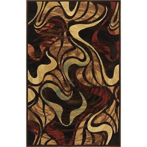 NEW Home Dynamix Catalina - Quality Drop-Stitch Contemporary Modern Area Rug 5'3 x 7'2, Multi-Colored Condtion: New, ...